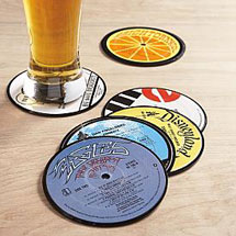 Recycled_lp_coasters