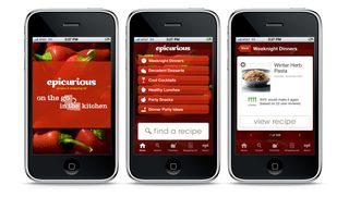 Epicurious-iphone-design