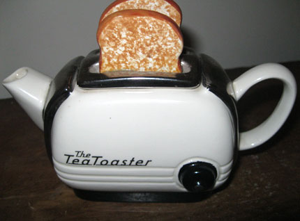 Tea toaster teapot