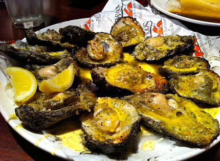 Drago's Broiled Oysters