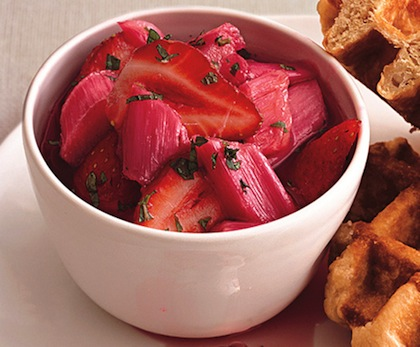 Rhubarb-strawberry-compote