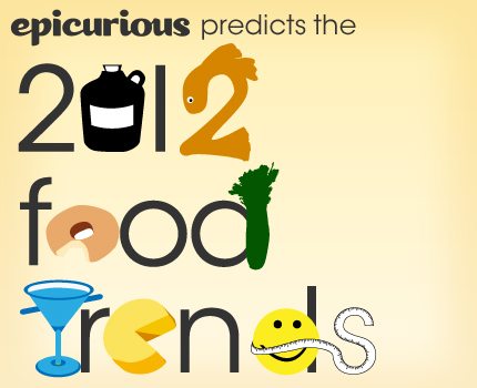 epicurious predicts the top 10 food trends for 2012
