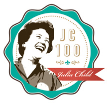 Julia Child 100 Badge