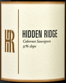 Hidden-ridge-cabernet-label