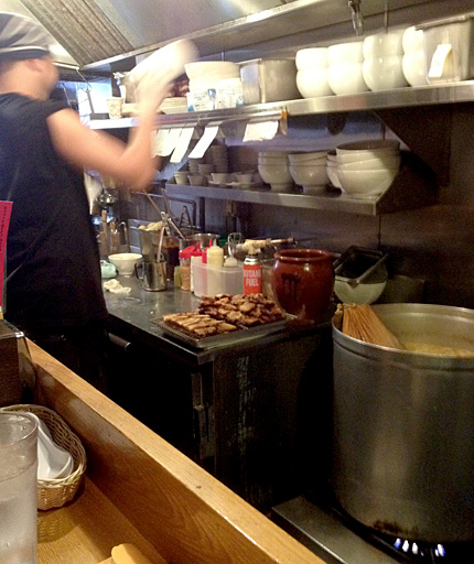 The Cook Line at Totto Ramen