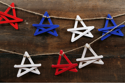 Fourth-of-July-Star-Garland