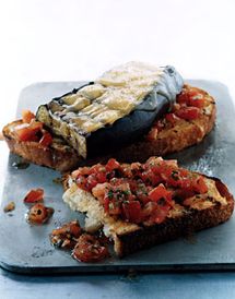 Eggplant-and-Smoked-Gouda-Open-Faced-Grilled-Sandwiches