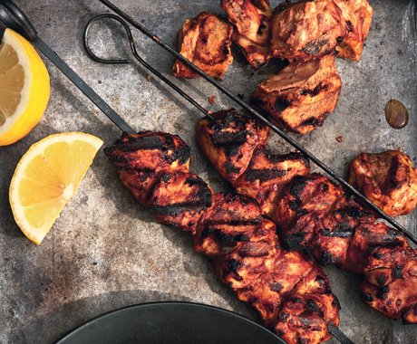 Yogurt-marinated-chicken-kebab
