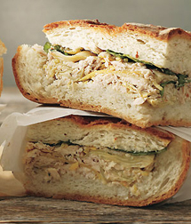 Tuna-and-Artichoke-Cooler-Pressed-Sandwiches