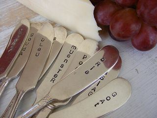 Cheese knives etsy