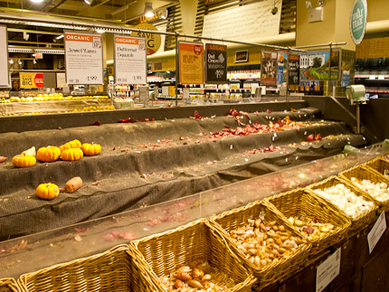 Schrambling_looted shelves at whole foods after superstorm-6576