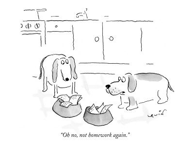 Arnie-levin-oh-no-not-homework-again-new-yorker-cartoon