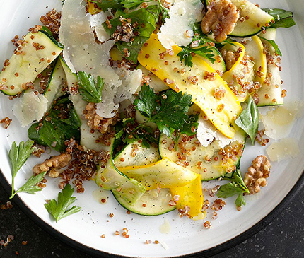 Summer-Squash-and-Red-Quinoa-Salad-with-Walnuts