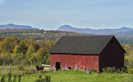 Vermontbarnscene