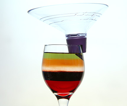 Layered-cocktail