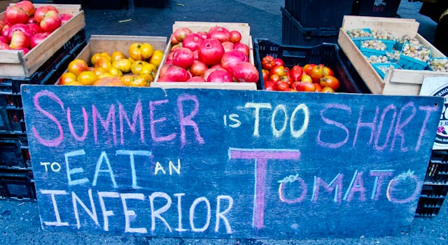Tomatoes heirlooms union square good sign-5436