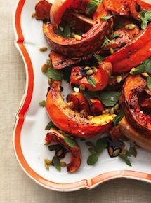 Roasted-squash-with-mint-epicurious