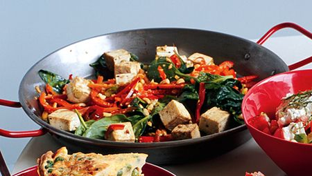 Spicy thai stir-fry