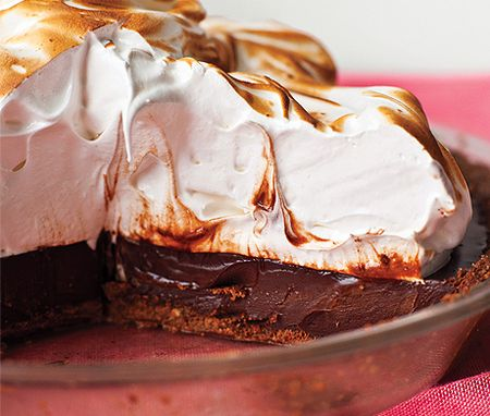 Coffee S'mores Pie