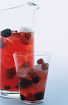 Rose berry sangria 4
