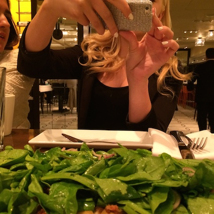Peyton-list-photographing-food