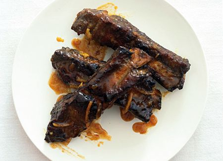 Beef Ribs with Orange and Smoked Paprika Sauc