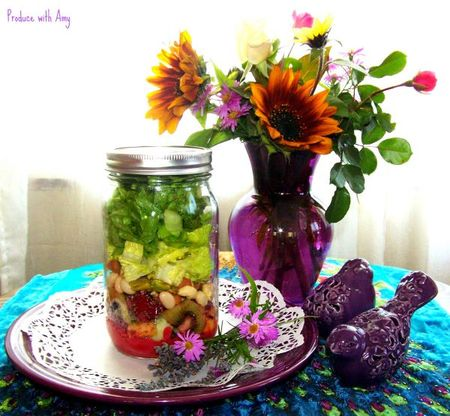 Fruited-chia-mason-jar-salads-with-blackberry-lavender-vinaigrette