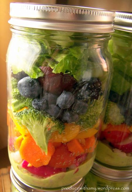 Harvest-rainbow-mason-jar-salad-with-creamy-pesto-dressing