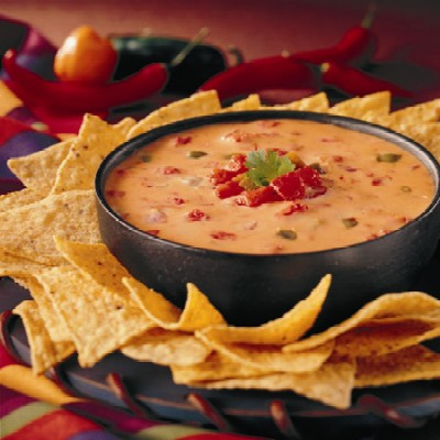 Ro-tel famous queso dip