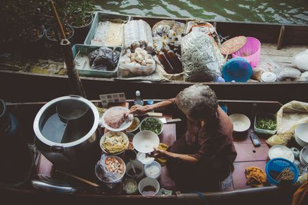 Nomadic-habit-bangkok-floating-market