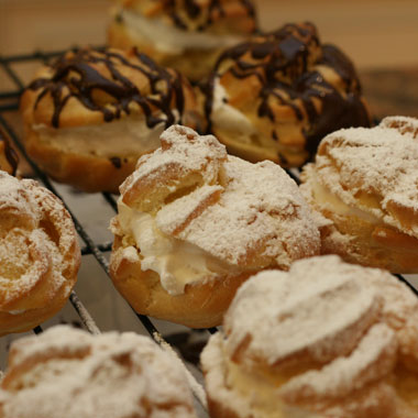 Persian cream puffs