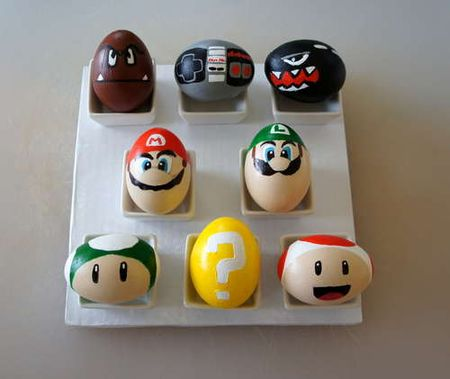 Mario brothers easter egg