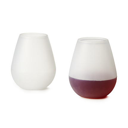 Silicone-wine-glasses