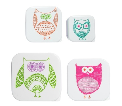 Owl-snack-boxes