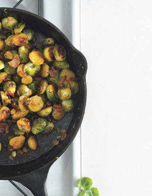 Brussels sprouts raisins