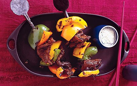 Chili-Beef Skewers