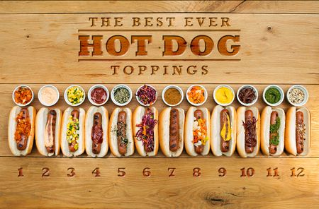 12 Amazing Hot Dog Topping Ideas, With Recipes!