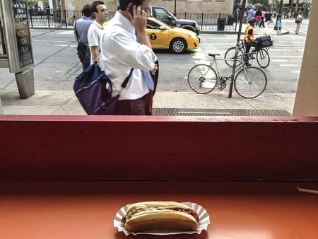 14-eat at window while people watching