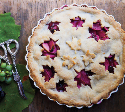 Grape-apple-pie
