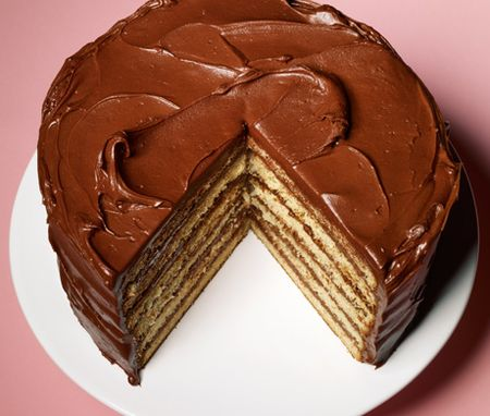 Yellow layer cake