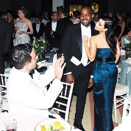 Heres What Kim Kardashian And Kanye West Served At Their Wedding