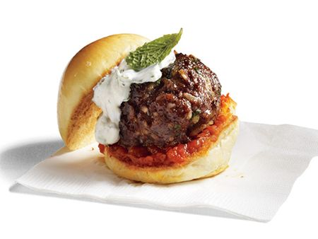 Mediterranean Bison Sliders