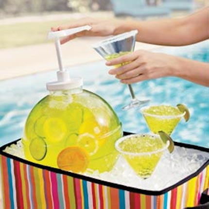 Margarita ball drink dispenser