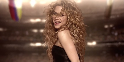 Shakira-yogurt-world-cup