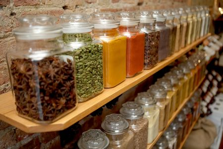 TheSpiceHouse shelf