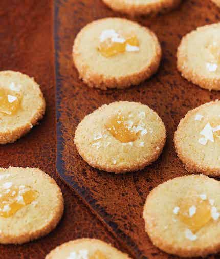 Ginger Curry Sugar Cookies