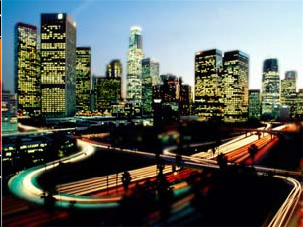 La_night_skyline