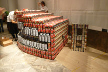 Canstruction_chatterbox_3
