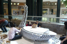 Canstruction_swan_2